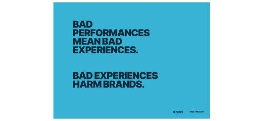 Bad performance mean bad experiences image