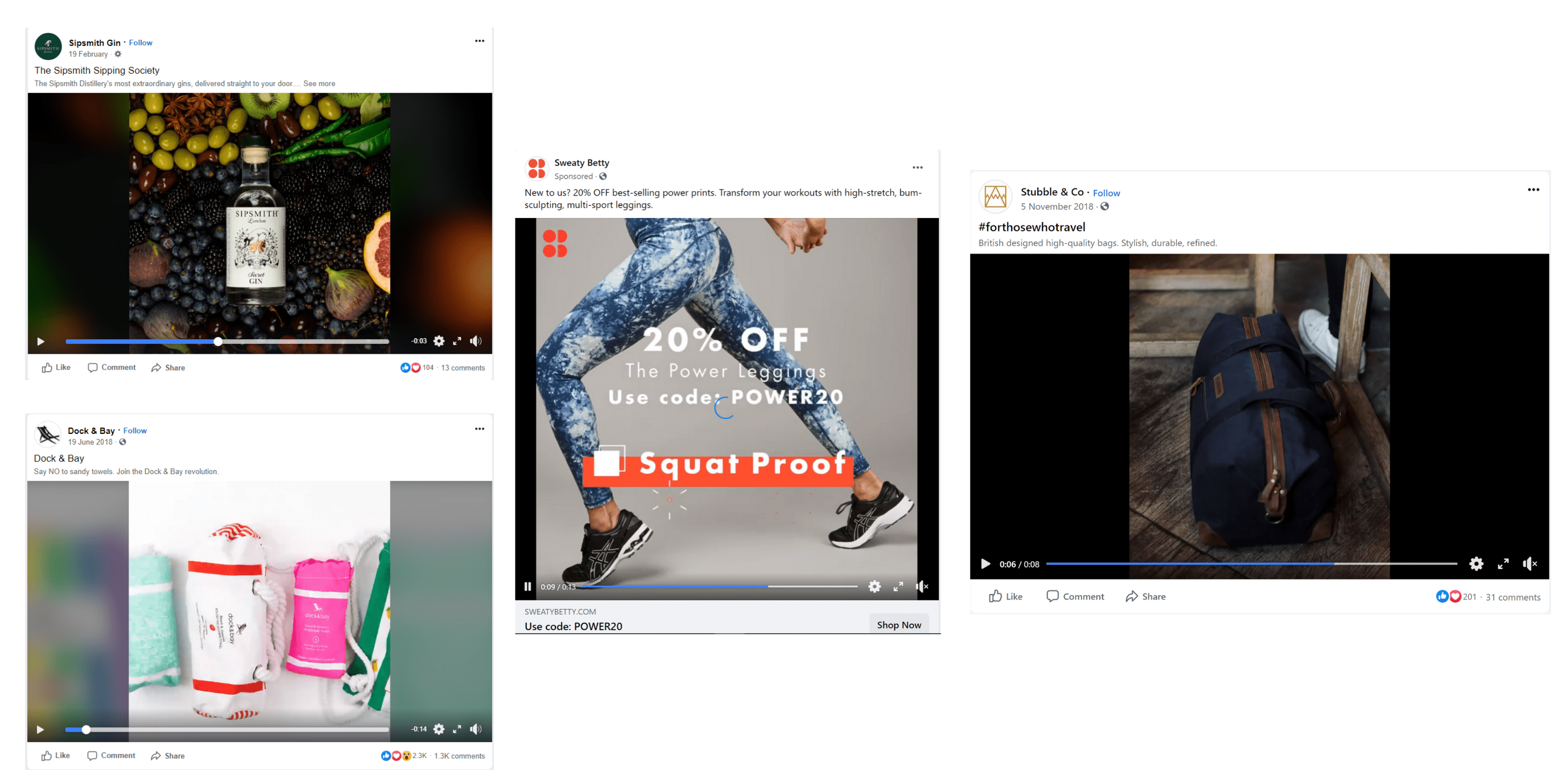Social ecommerce video example image