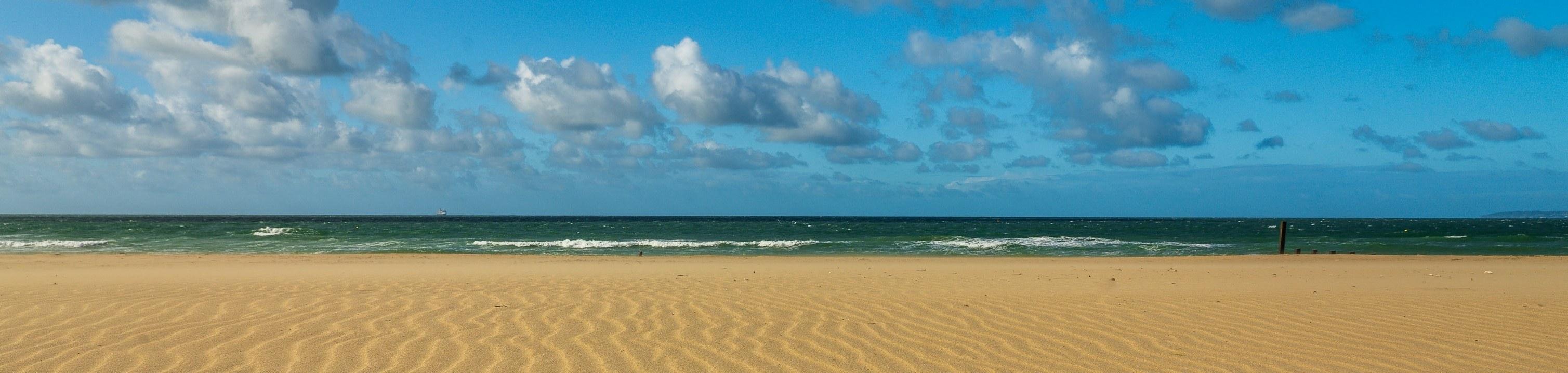 Beach scene image