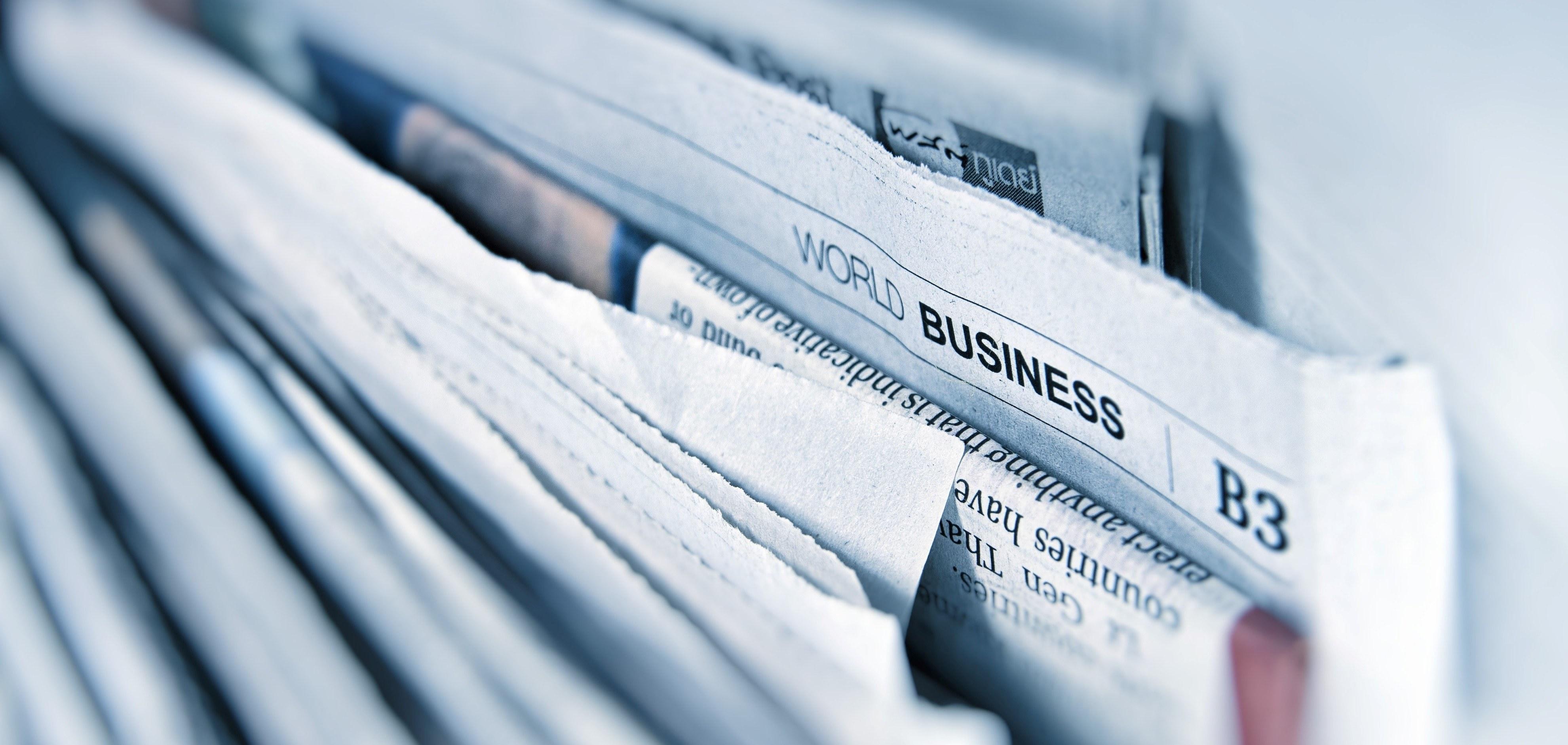 Newspaper blog image image